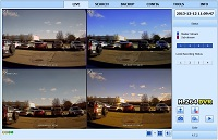 SX-HD2000 DVR Remote View