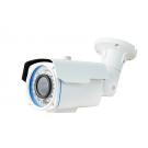 1080P Resolution, 4-in-1 (AHD, HD-TVI, HD-CVI, and Analog) Varifocal IR Bullet Camera (White Color)