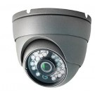1080P Resolution, 4-in-1 (AHD, HD-TVI, HD-CVI, and Analog) Fixed Lens IR Vandal Dome Camera (Grey Color)