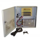 APS-1209-5A, Security Camera Power Supply with Locking Door