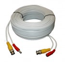 AW-AVC-100, 100' CCTV Camera Cable, Plug-N-Play Power and Video with BNC and Power Connectors