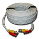 AW-AVC-150, 150' CCTV Camera Cable, Plug-N-Play Power and Video with BNC and Power Connectors