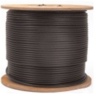 AW-RG59U-S-5B-P, RG-59/U Siamese Plenum Cable, Plenum Rated 500ft. 100% Copper