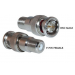 BNC Male to F Female Connector,