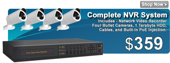 720P HD NVR Package